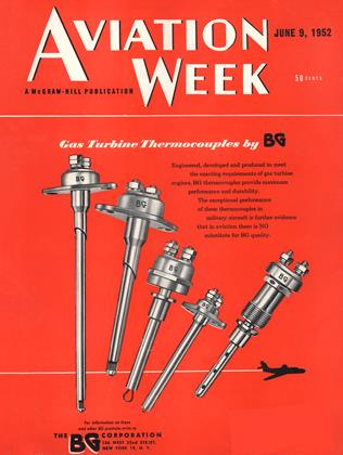 Cover for the June 9 1952 issue