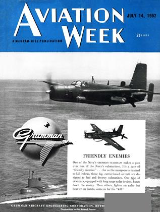Cover for the July 14 1952 issue