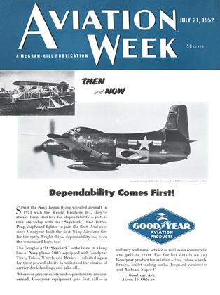 Cover for the July 21 1952 issue