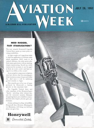 Cover for the July 28 1952 issue