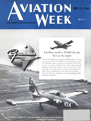 Cover for the August 11 1952 issue