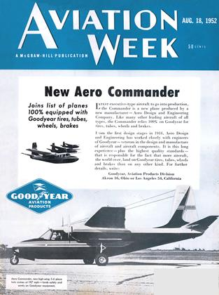 Cover for the August 18 1952 issue