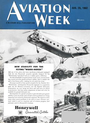 Cover for the August 25 1952 issue