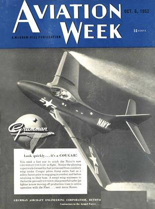 Cover for the October 6 1952 issue