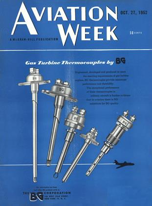 Cover for the October 27 1952 issue