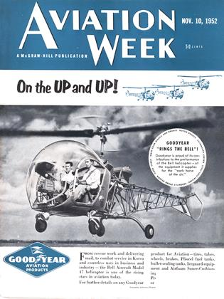 Cover for the November 10 1952 issue