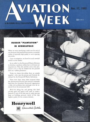 Cover for the November 17 1952 issue