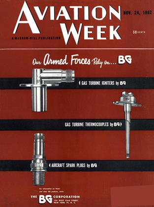 Cover for the November 24 1952 issue