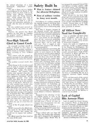 Safety Built In, Page: 17 - NOV. 24, 1952 | Aviation Week