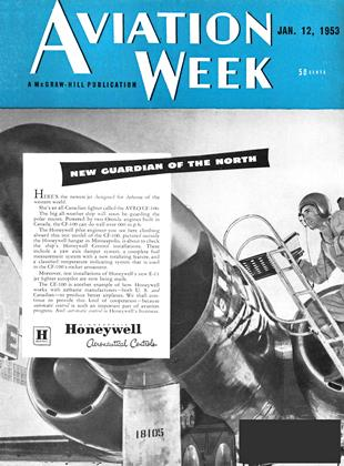 Cover for the January 12 1953 issue