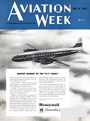 Cover for the February 9 1953 issue