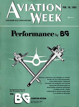 Cover for the February 16 1953 issue