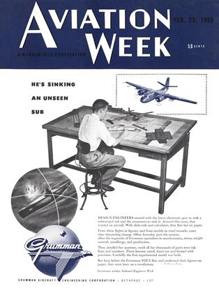 Cover for the February 23 1953 issue