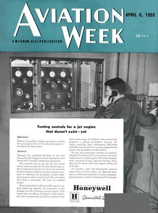 Cover for the April 6 1953 issue