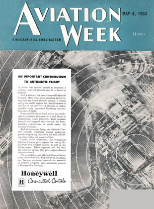Cover for the May 4 1953 issue
