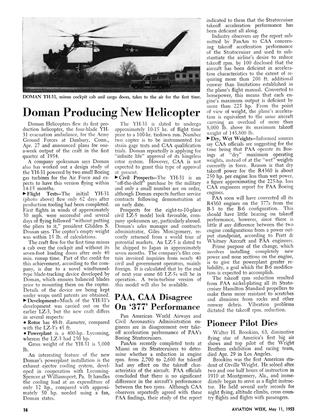Doman Producing New Helicopter, Page: 16 - MAY 11, 1953 | Aviation Week