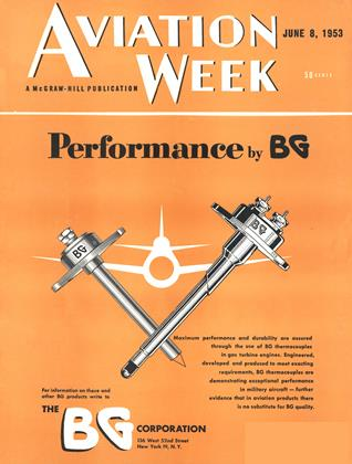 Cover for the June 8 1953 issue