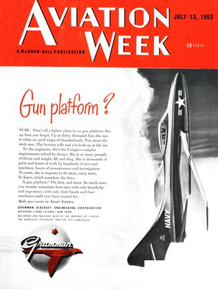 Cover for the July 13 1953 issue