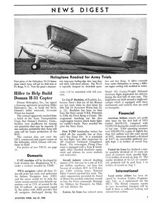 News Digest, Page: 7 - JULY 27, 1953 | Aviation Week