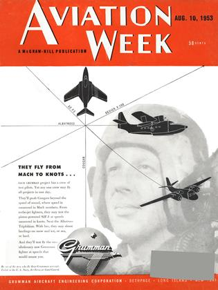 Cover for the August 10 1953 issue