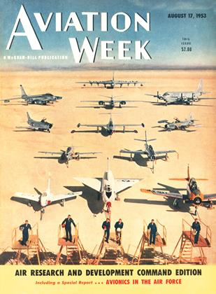 Aviation Week, Page: 1 - AUGUST 17, 1953 | Aviation Week