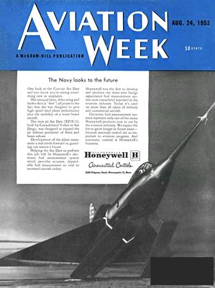 Cover for the August 24 1953 issue