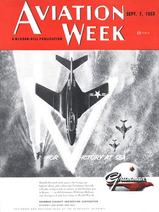 Cover for the September 7 1953 issue