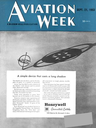 Cover for the September 21 1953 issue
