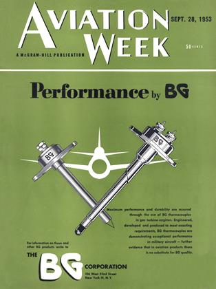 Cover for the September 28 1953 issue