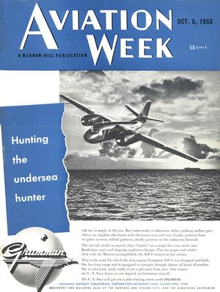 Cover for the October 5 1953 issue