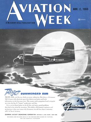 Cover for the November 2 1953 issue