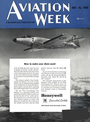 Cover for the November 16 1953 issue