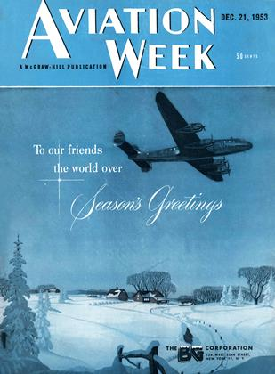 Cover for the December 21 1953 issue