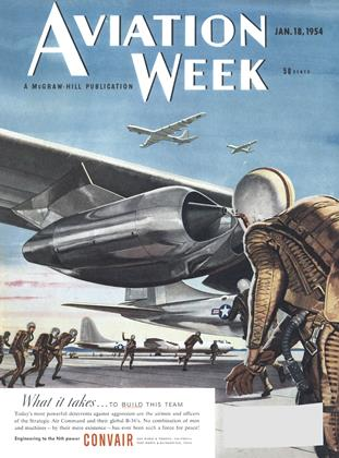 Cover for the January 18 1954 issue