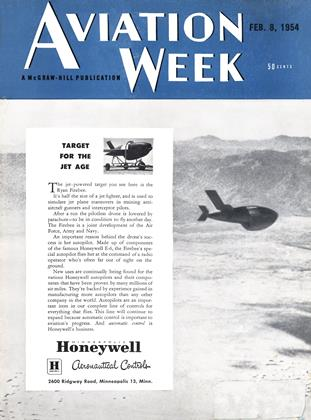 Cover for the February 8 1954 issue
