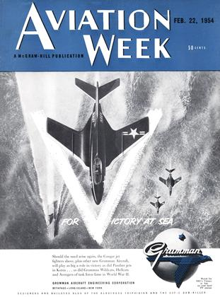 Cover for the February 22 1954 issue