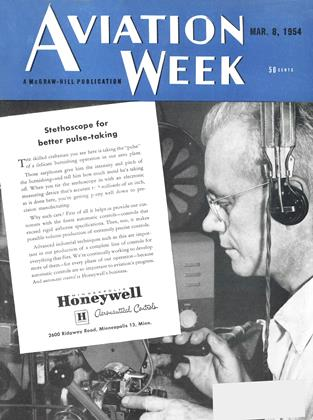 Cover for the March 8 1954 issue