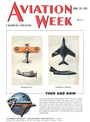 Cover for the March 29 1954 issue
