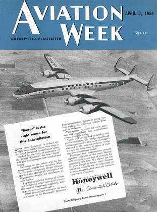 Cover for the April 5 1954 issue