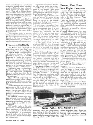 Doman, Fleet Form New Copter Company, Page: 15 - MAY 3, 1954 | Aviation Week