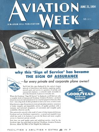 Cover for the June 21 1954 issue