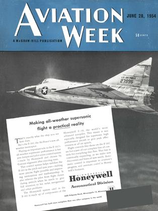 Cover for the June 28 1954 issue