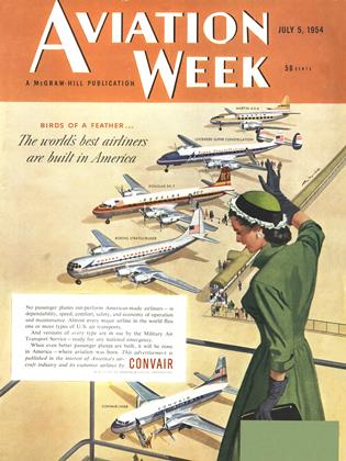 Cover for the July 5 1954 issue