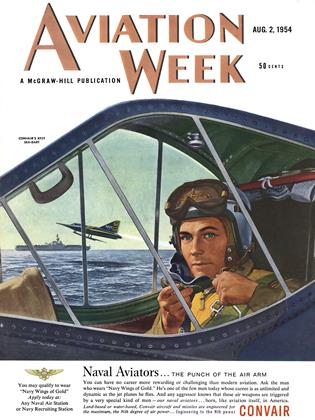 Cover for the August 2 1954 issue