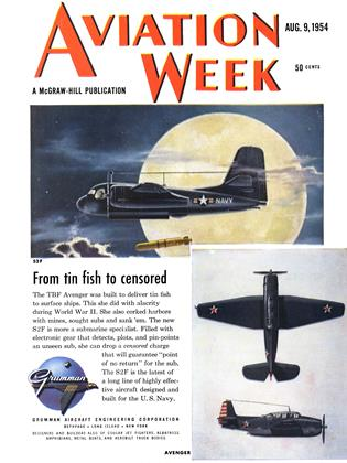 Cover for the August 9 1954 issue