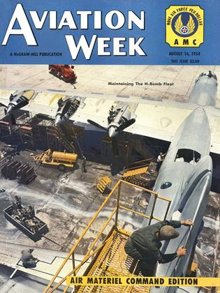 Cover for the August 16 1954 issue