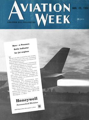 Cover for the August 23 1954 issue