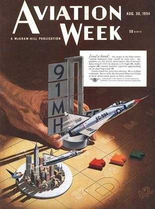 Cover for the August 30 1954 issue