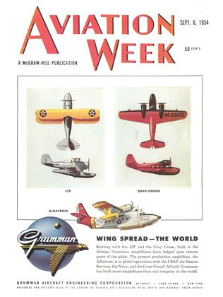 Cover for the September 6 1954 issue