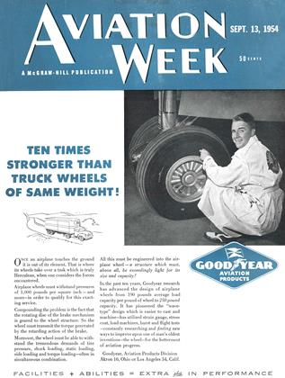 Cover for the September 13 1954 issue